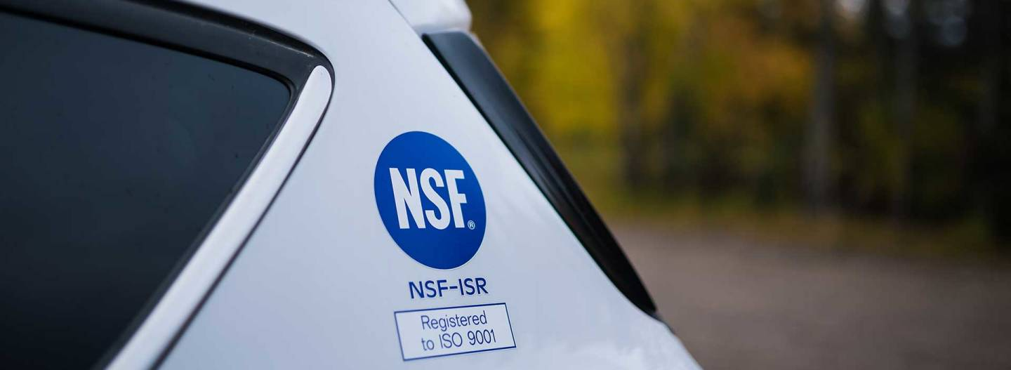 NSF & OHSAS Certifications