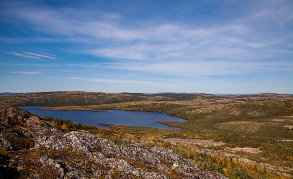 Nunacor Labrador Landscape Lake Mountain